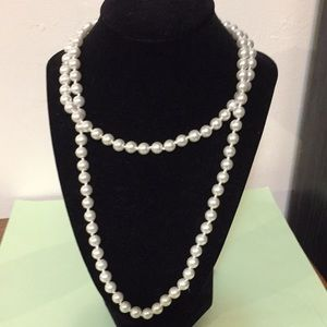 Ardene necklace and earrings set NEW faux pearl